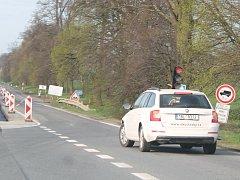 Řidiči z Vyškova směřující na Tučapy si počkají na semaforech.