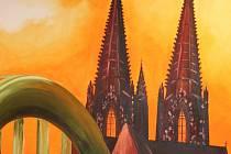 Německou malířku Marisu Ivanu Filu inspirovala při tvorbě také gotická architektura.