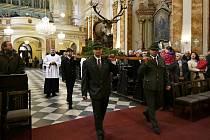 V kostele Nanebevzetí Panny Marie ve Vyškově se každoročně koná ke cti svatého Huberta stavovská mše za myslivce, sokolníky a lesníky. Letos ji však kvůli koronaviru oželeli stejně jako další akce.
