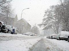 Zima ve Vyškově - ilustrační foto.