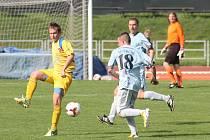 Fotbalisté MFK prožili hladkou jízdu. Bezzubé Tasovice mohly být rády, že odjely po Ličkově hattricku jen s tříbrankovým přídělem.