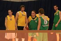 Oblastní basketbalové přebory.