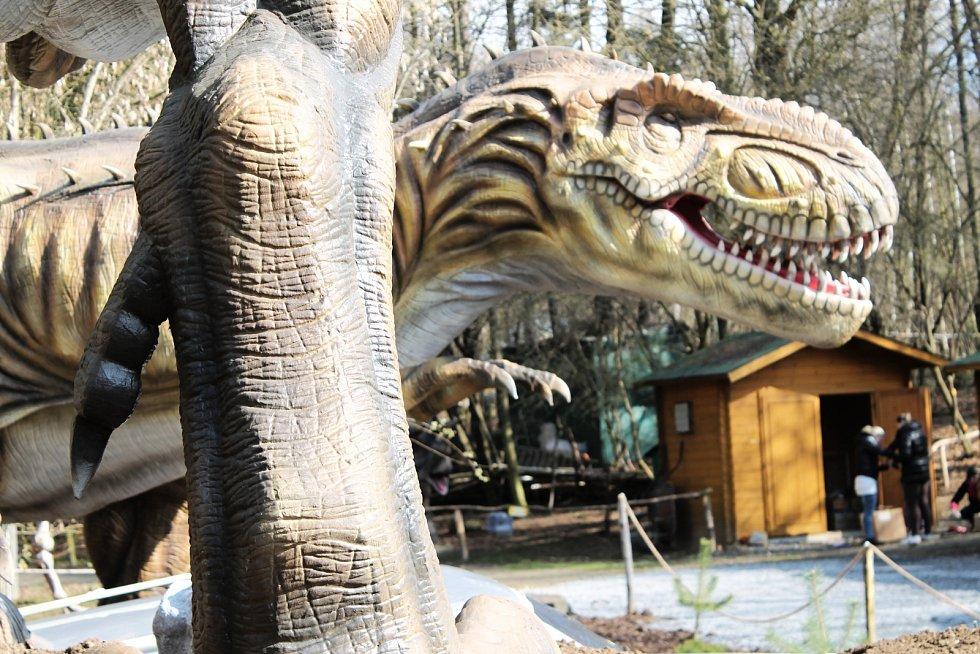 Vyškovský Dinopark.