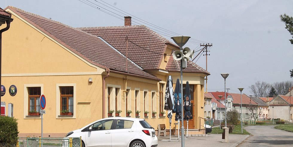 Na návštěvě v Hlubočanech.