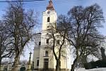 Kostel Nanebevzetí panny Marie v Bohdalicích.