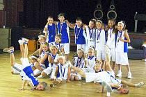 Taneční skupina N-yoj! kids z Vyškova.