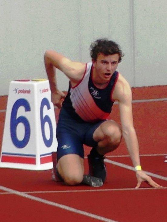 Závodníci AK AHA Vyškov Mario Hajzler a Jakub Derka úspěšně startovali na závodech v Ostravě.