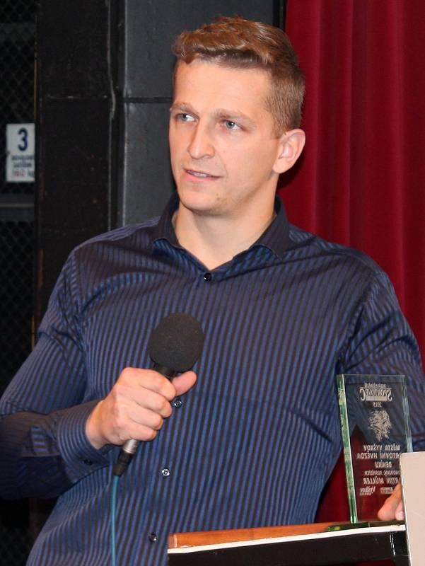 Nohejbalista Martin Müller.