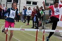 První ročník charitativního atletického závodu Andělský trojboj se běžel na podporu čtrnáctiletého Ondřeje Dudy z Vyškova bojujícího s leukémií.