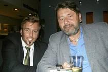 Bývalý šéf bučovické kultury Josef Brychta (vpravo) s Josefem Boudou.