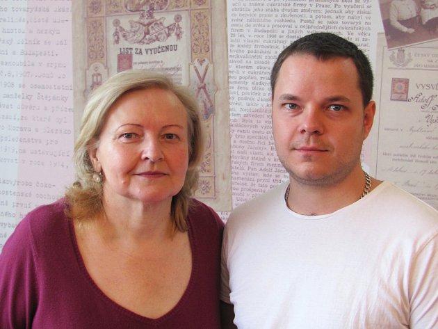Vyškovská rodinná cukrárna Janský uspěla v regionální soutěži. Loni se zákuskem Mánička, minulý týden s borůvkovým dezertem.