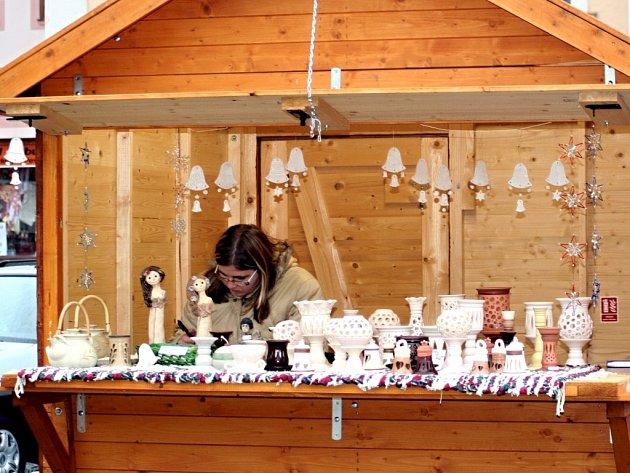 Vánoční trhy ve Vyškově.