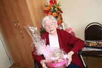 Rodilá Vyškovanka Marie Nováková oslavila 104. narozeniny.