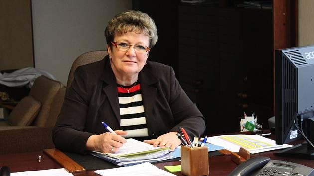 Ředitelka vyškovské nemocnice Věra Seidlová.