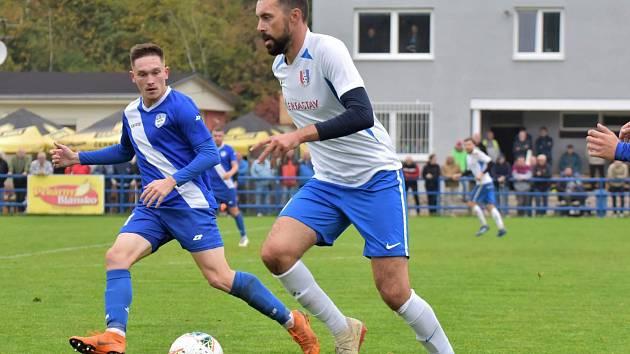 Zkušený fotbalista Michal Ordoš měl namířeno z Blanska do Hodonína, ale nakonec zakotvil ve Vyškově.