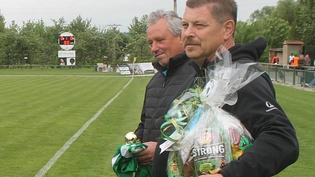 Petr Pupp, předseda fotbalistů TJ Tatran Rousínov.
