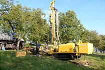 V Olešnici provedli průzkumné vrty na nové zdroje pitné vody.