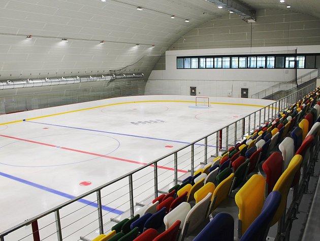Vyškovský zimní stadion.