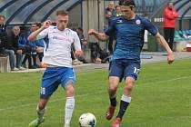 Snímek je z prvního přípravného utkání fotbalistů MFK Vyškov s Blanskem (1:2).