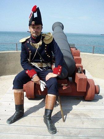 Napoleonské období kronikáře skupiny historického šermu Buhurt Petra Žampacha láká už od začátku devadesátých let.