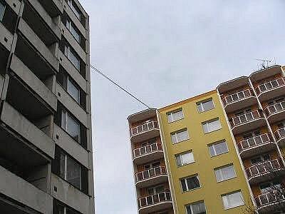 Sídliště Osvobození ve Vyškově.