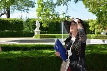 Víkend 6. a 7. června lákal ke komentované prohlídce zámeckého parku ve Slavkově u Brna.