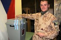 Přímou volbu prezidenta využili i bučovičtí vojáci, kteří jsou na misi v Afghánistánu.