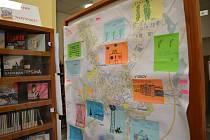Děti na výstavě prezentují své nápady na vylepšení Vyškova.