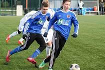 V přípravném utkání na domácím umělém trávníku prohráli starší dorostenci MFK Vyškov (U19) se svými vrstevníky z 1.SK Prostějov 0:1.
