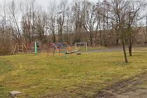 Dětské hřiště ve Švábenicích.