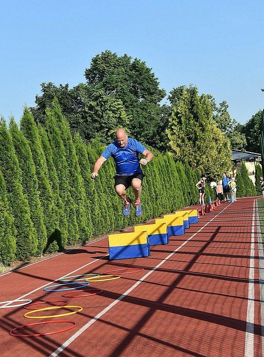 Společný trénink si ve středu 16. června 2021 ve sportovním orelském areálu užili všichni zúčastnění.