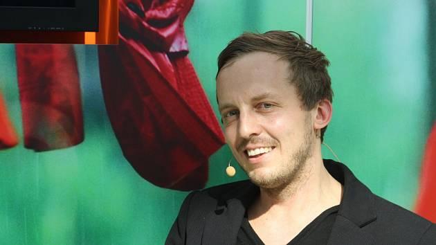 Slovenský spisovatel Michal Hvorecký.
