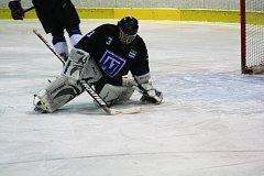 Hokejový brankář Petr Matoušek.