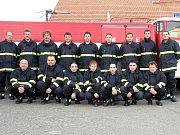 Dobrovolní hasiči z Krásenska