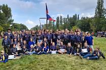 V úterý 28. 9. 2021 se tradičně konal závod Napříč Prahou přes tři jezy.