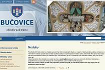 Webové stránky města Bučovice.