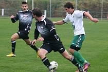 V utkání krajského přeboru porazili fotbalisté Framozu Rousínov Slovan Bzenec 2:0 (0:0).