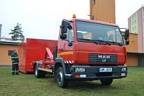 Vyškovským hasičům poslouží zrenovovaný nákladní automobil zakoupený městem.