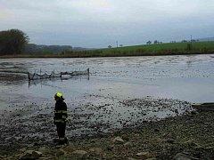 Desítky metráků uhynulých ryb vylovili pohořeličtí rybáři ze svého násadového rybníka v Ivanovicích na Hané.