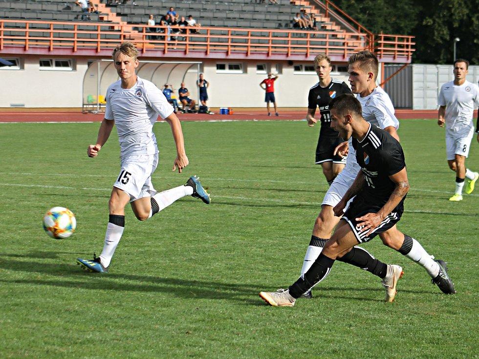 Jan Krejčí, obránce MFK Vyškov, Moravskoslezská fotbalová liga.