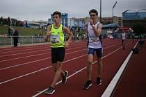Celkem18 žákyň a 15 žáků startovalo v chůzi na 3000m na MČR žactva v Mladé Boleslavi.