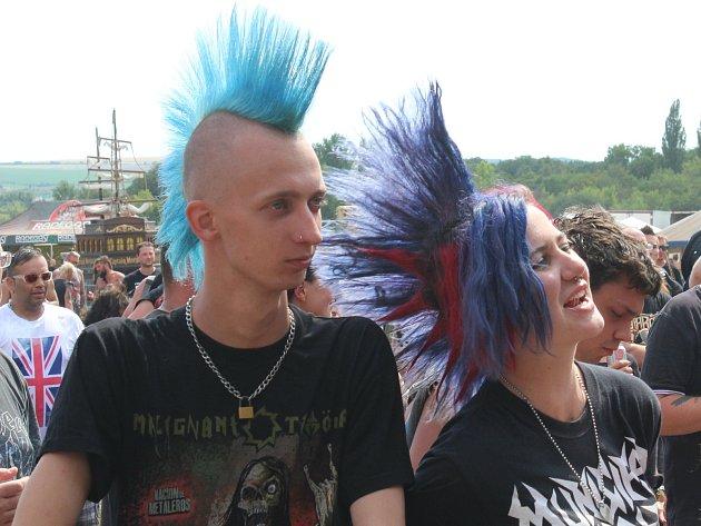 Ve Vyškově se konal punkový festival Pod parou.