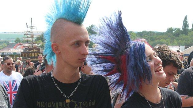 Punkeři tři dny Pod parou: Punk není mrtvý za žádného počasí, ukázal festival