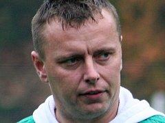 Trenér fotbalistů Framozu Rousínov, kteří hrají krajský přebor, Milan Boušek.