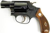 ILUSTRAČNÍ FOTO: Smith and Wesson Model 36.
