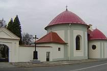 Kaple sv. Jana Křtitele se špitálem ve Slavkově u Brna.