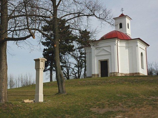 Kaple svatého Urbana u Slavkova u Brna.