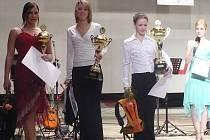 Mezi oceněnými v loňském roce nechyběly zprava vítězka gymnastka Petra Štaudrová, cyklistka Lada Kozlíková a šampiónka v bodyfitness Eva Sváčková. Kromě obhájkyně titulu mají díky nominaci poslední dvě velkou šanci na úspěch i letos.