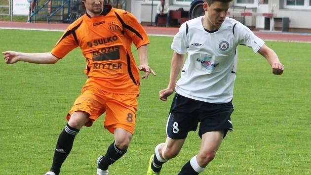 Fotbalisté MFK Vyškov prohráli v utkání 25. kola moravskoslezské ligy s SK Sulko Zábřeh 2:3.