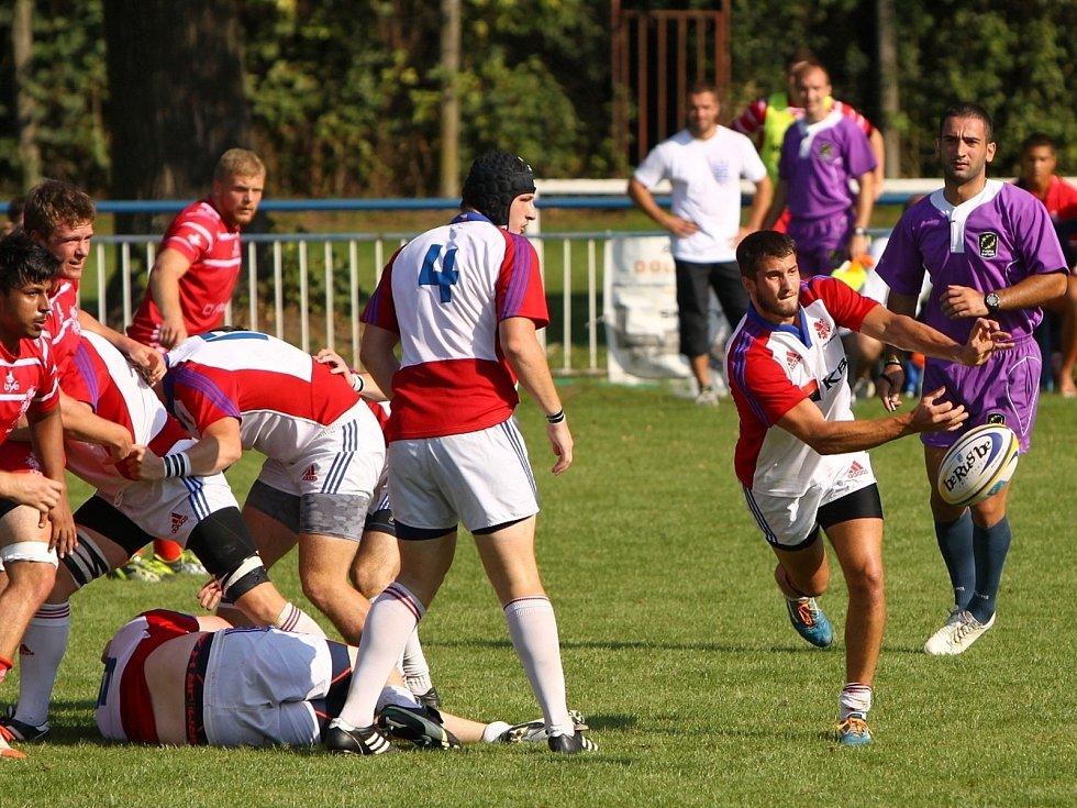 Ve finále ME v ragby týmů do 20 let ve Vyškově prohrála  Česká republika se  Švýcarskem 0:38.